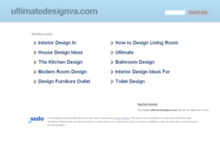 ultimatedesignva.com screenshot