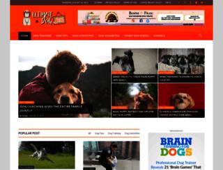 ultimatedogblog.com screenshot