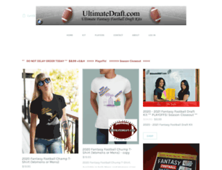 ultimatedraft.com screenshot