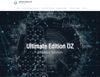 ultimateeditionoz.com screenshot