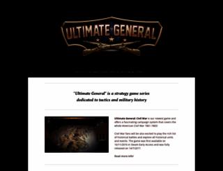 ultimategeneral.com screenshot