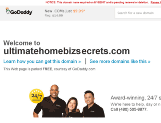 ultimatehomebizsecrets.com screenshot