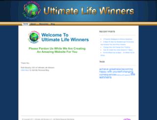 ultimatelifewinners.com screenshot