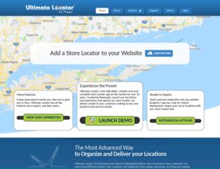 ultimatelocator.com screenshot