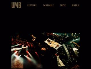 ultimatemcbattle.com screenshot