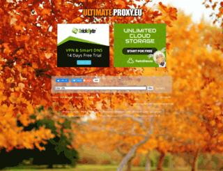 ultimateproxy.eu screenshot
