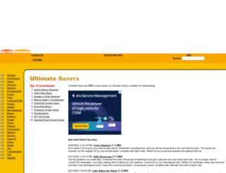 ultimatesavers.com screenshot