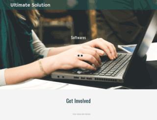 ultimatesolution.org screenshot