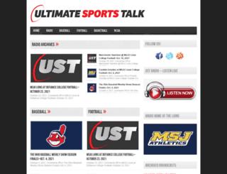 ultimatesportstalk.com screenshot
