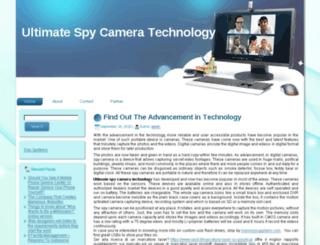 ultimatespycamera.com screenshot