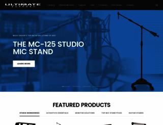 ultimatesupport.com screenshot