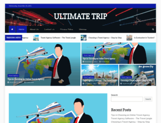 ultimatetrip.biz screenshot