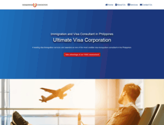 ultimatevisa.com screenshot