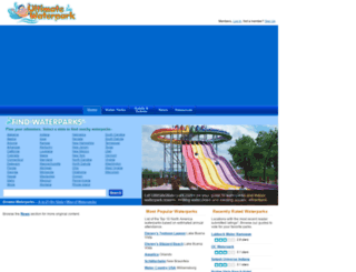ultimatewaterpark.com screenshot