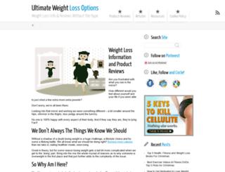 ultimateweightlossoptions.com screenshot