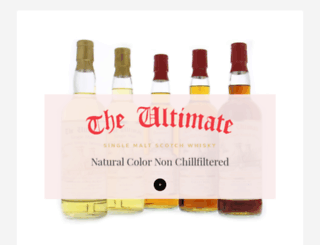 ultimatewhisky.com screenshot