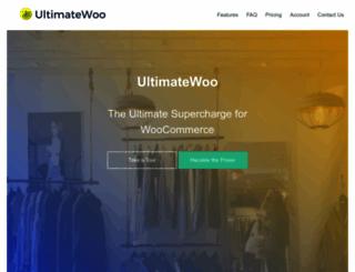 ultimatewoo.com screenshot