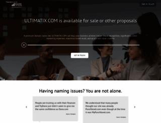 ultimatix.com screenshot
