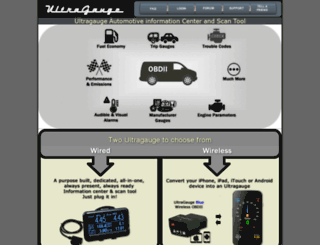 ultra-gauge.com screenshot