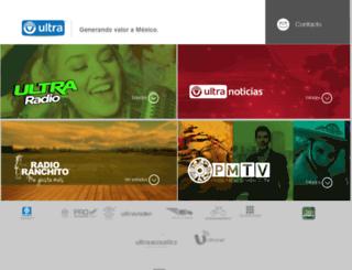 ultra.com.mx screenshot