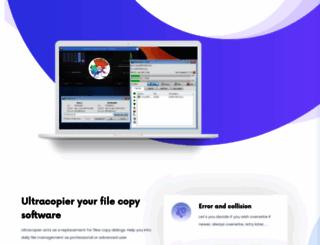 ultracopier.first-world.info screenshot