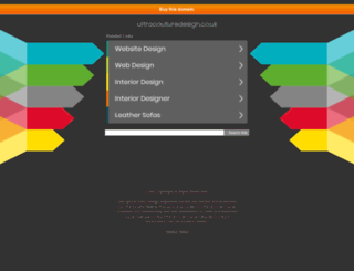 ultracouturedesign.co.uk screenshot