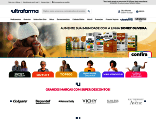 ultrafarma.com.br screenshot