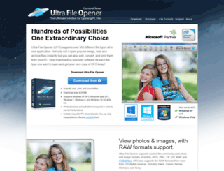 ultrafileopener.com screenshot