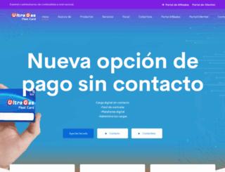 ultragas.com.mx screenshot
