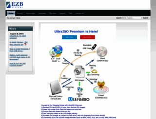 ultraiso.com screenshot