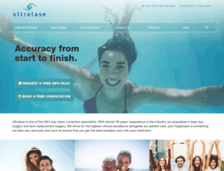 ultralase.com screenshot