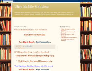 ultramobilesolutions.blogspot.com.es screenshot
