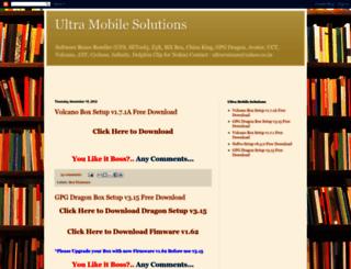 ultramobilesolutions.blogspot.fr screenshot