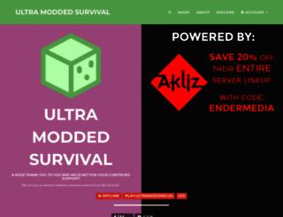 ultramodded.us screenshot