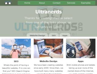 ultranerds.com screenshot