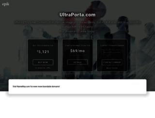 ultraporta.com screenshot
