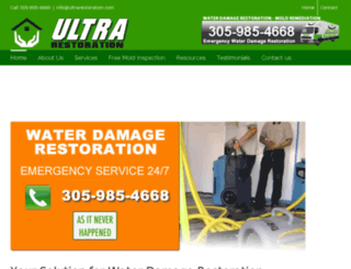 ultrarestoration.com screenshot