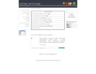 ultras-extraliga.7x.cz screenshot