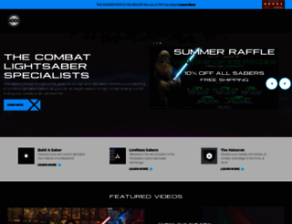 ultrasabers.com screenshot