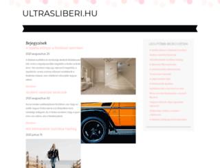 ultrasliberi.hu screenshot
