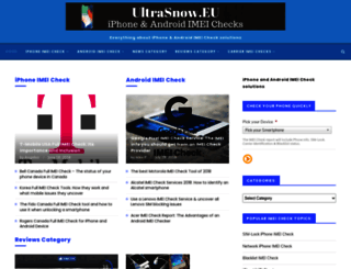 ultrasnow.eu screenshot