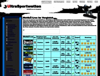 ultrasportwetten.de screenshot