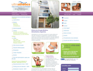 ultrasthetics.com.ar screenshot