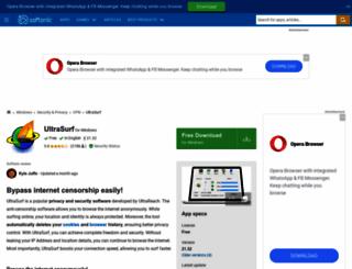 ultrasurf.en.softonic.com screenshot