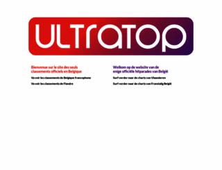 ultratop.be screenshot
