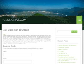 ulungmas.com screenshot