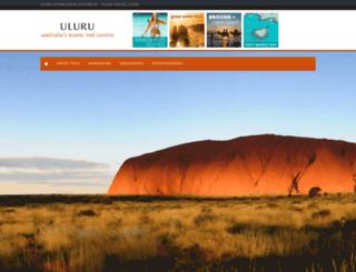 uluru-australia.com screenshot