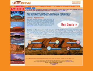 uluru.com screenshot