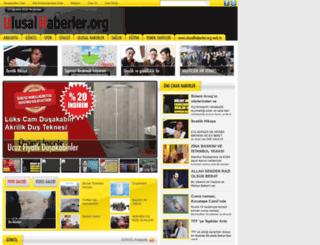 ulusalhaberler.org screenshot