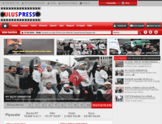uluspress.com screenshot